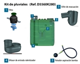 KIT AGUAS PLUVIALES PARA DEPOSITOS EN SUPERFICIE