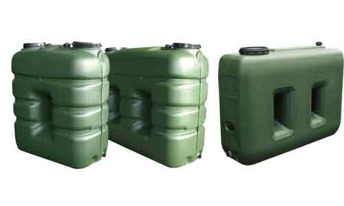 Cisternas de forma rectangular for Deposito agua pluvial